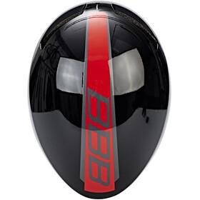 BBB Tithon BHE-08 Helm glossy schwarz/rot